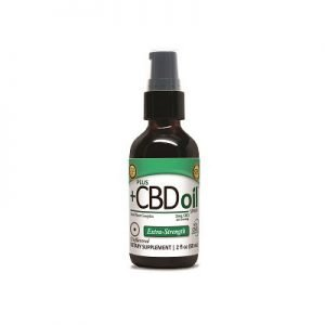 Plus CBD Unflavored EVOO CBD Oil Spray