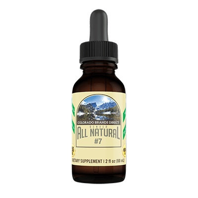 Denver All Natural 250mg CBD Oil Drops