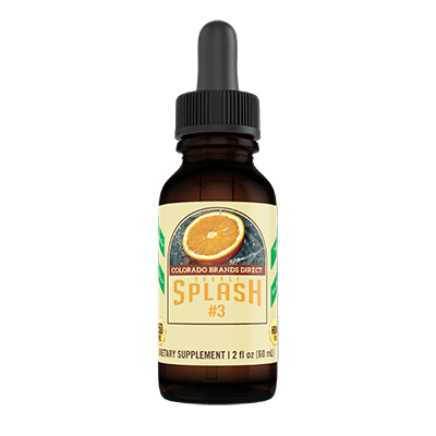 Colorado Brands Direct Orange Splash 250mg CBD Oil Drops