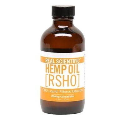 Real Scientific Hemp Oil Gold formula Front