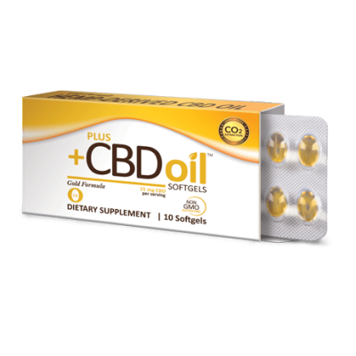 Plus CBD Gold Formula Softgels