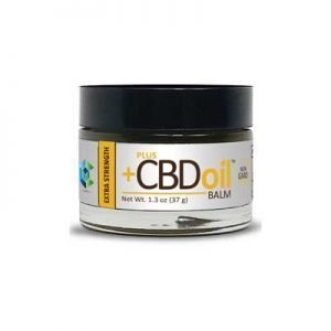 Plus CBD Hemp Oil Gold Balm