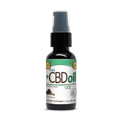 cafe mocha EVOO CBD Oil Spray