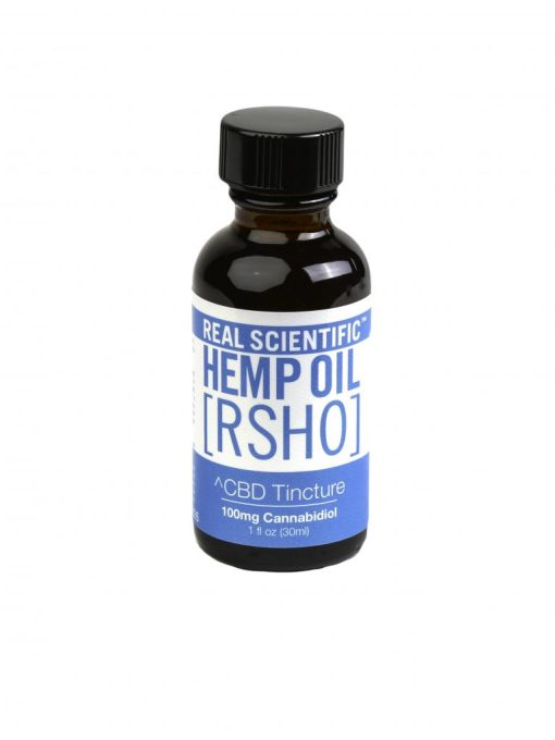 real scientific hemp oil blue label 100mg