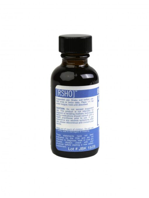real scientific hemp oil blue label 1oz Back