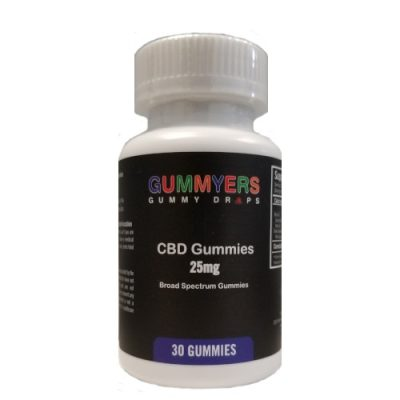Guummyers 25mg 30ct Front