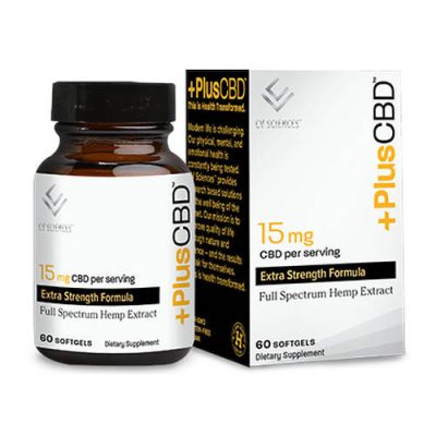Plus CBD Gold Formula Softgels 15mg 60ct