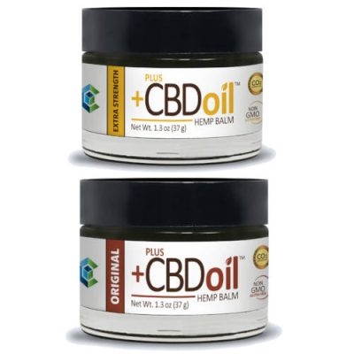 Plus CBD Oil Balms