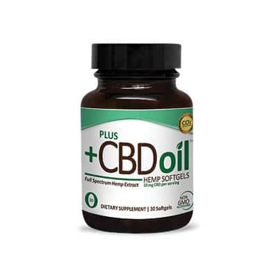 Plus CBD Total Plant Complex Softgels