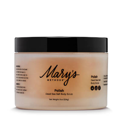 Mary's Methods Dead Sea Salt Scrub