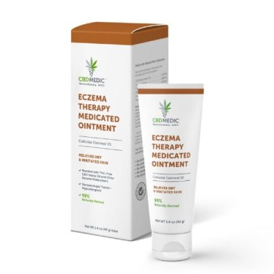 CBD Medic Eczema Therapy Medicated Ointment
