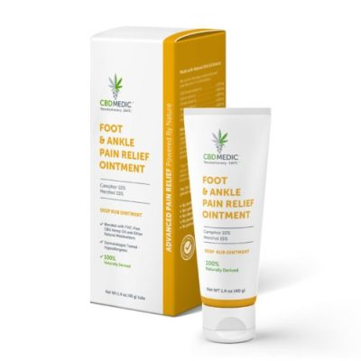 CBD Medic Foot and Ankle Pain Relief Ointment