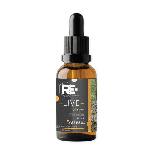 Relive Everyday Natural 600mg Level 1 Front