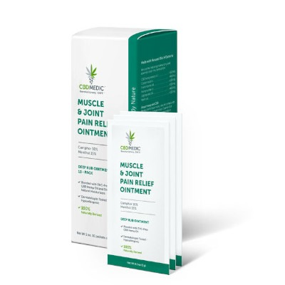 CBD Medic Muscle and Joint Ointment Packets