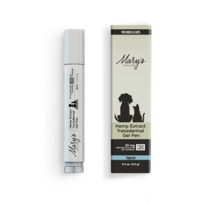 Mary's Tails Pet Gel Pen New Box
